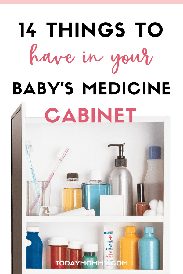 14 Items To Keep In Your Baby's Cabinet