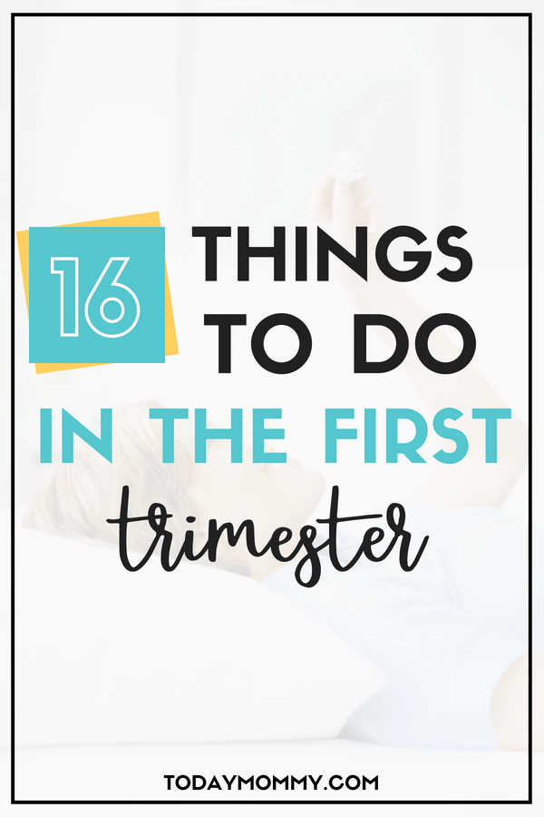 First Trimester Checklist: What To Do When You Find Out You're Pregnant