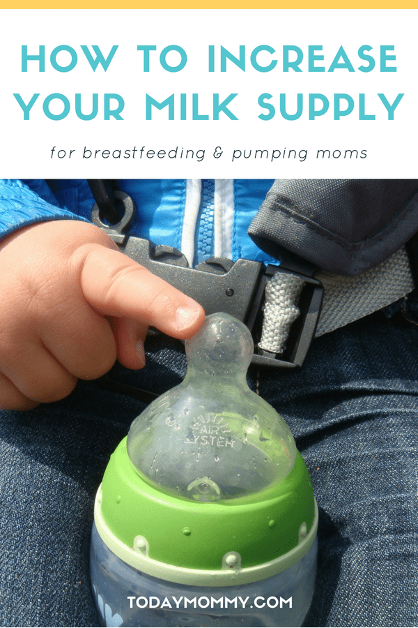 Tips To Increase Your Milk Supply