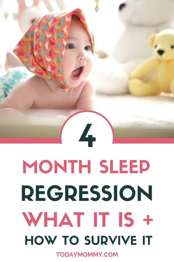 4 Month Sleep Regression: What It Is + How To Survive It