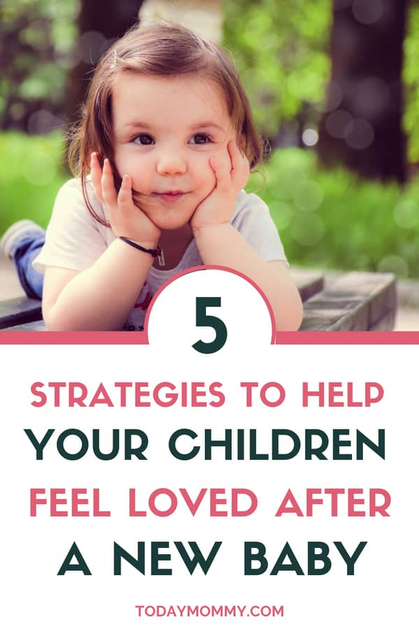 5 Ways To Help Your Child Feel Loved After A New Baby