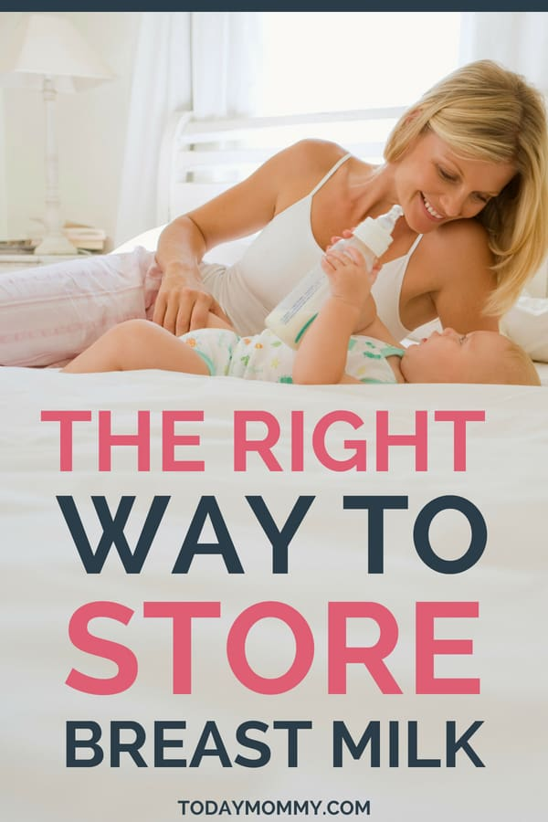 How To Store Breast Milk Properly: A Guide For Pumping Moms
