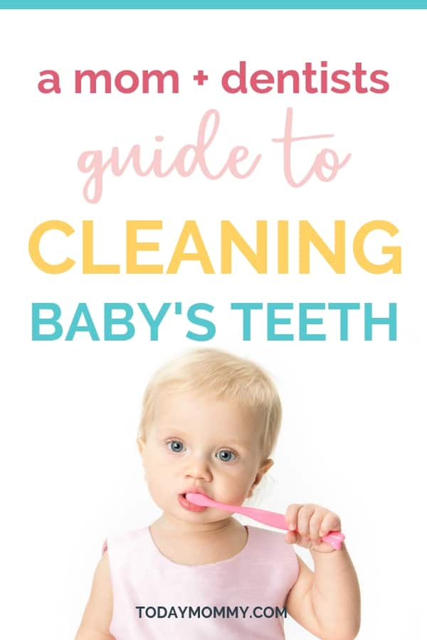 How To Clean Your Baby's Teeth - Tips From A Dentist