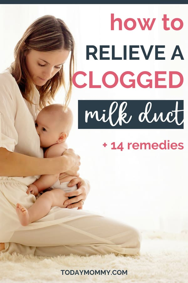 Clogged Milk Ducts: Symptoms & Treatment