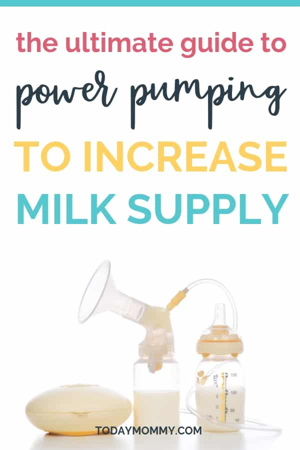 Power Pumping: The Complete Guide To Boost Your Milk Supply