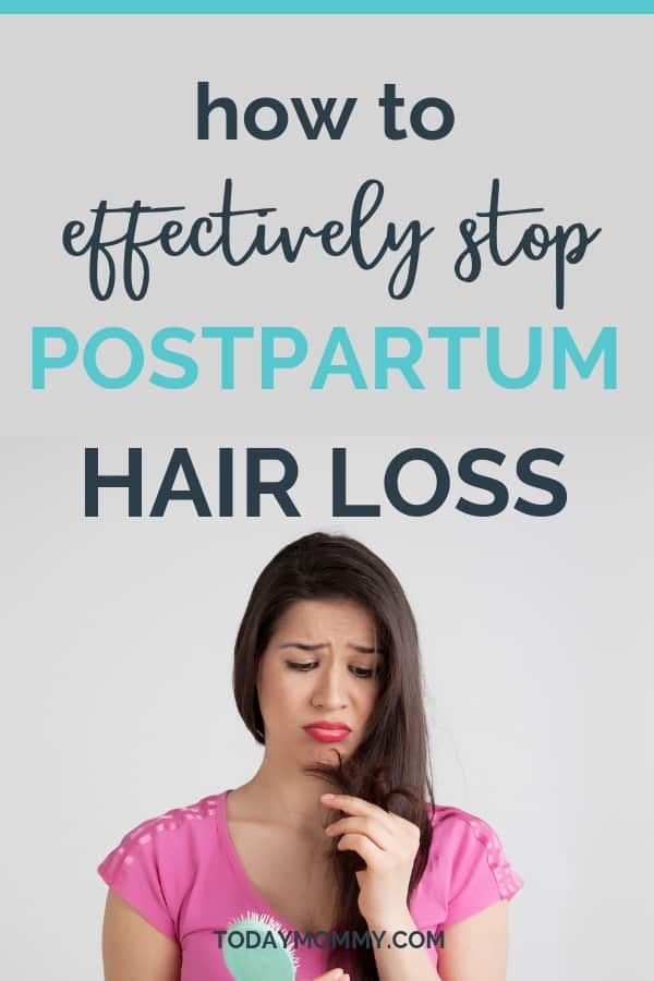 How To Stop Postpartum Hair Loss - Effective Remedies For New Moms