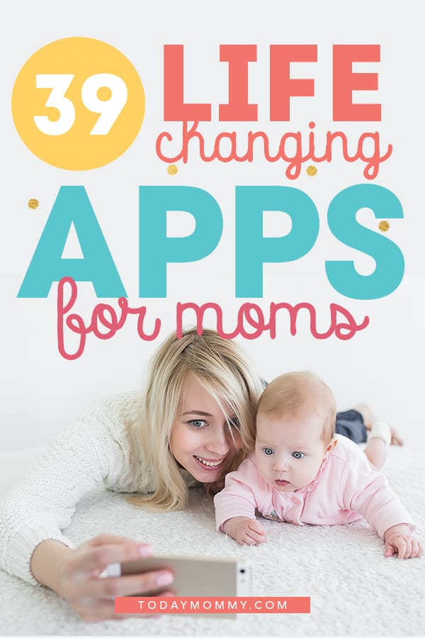The 39 Best Apps For Moms - Learn how to use these awesome smartphone apps for both iPhone and android to improve your life, have more fun, track milestones, store memories with your kids and more! #parenting #parentingtips #momlife