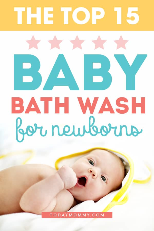 Find out the best baby wash for your newborn! These choices from moms will helpful find the best bath wash for your child (including for sensitive skin!). #parentingtips #momlife