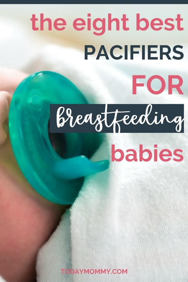 The 8 Best Pacifiers For Breastfed Babies